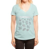 Plants are friends - womens-deep-v-neck - small view