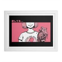Aishiteru - white-horizontal-framed-print - small view