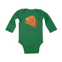 Pizza Chameleon - baby-long-sleeve-bodysuit - small view
