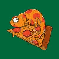 Pizza Chameleon - small view