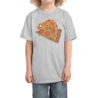 Pizza Chameleon - kids-tee - small view