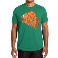Pizza Chameleon - mens-extra-soft-tee - small view