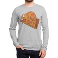 Pizza Chameleon - mens-long-sleeve-tee - small view
