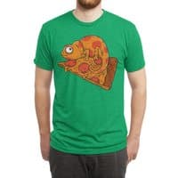 Pizza Chameleon - mens-triblend-tee - small view