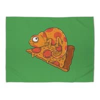 Pizza Chameleon - rug-landscape - small view