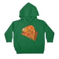 Pizza Chameleon - toddler-pullover-hoody - small view