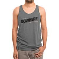 Greetings from Nowhere - mens-triblend-tank - small view