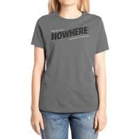 Greetings from Nowhere - womens-extra-soft-tee - small view