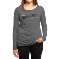 Greetings from Nowhere - womens-long-sleeve-terry-scoop - small view