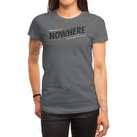 Greetings from Nowhere - womens-regular-tee - small view