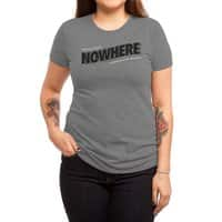 Greetings from Nowhere - womens-triblend-tee - small view