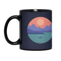Peaceful Reflection - black-mug - small view
