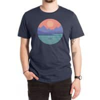 Peaceful Reflection - mens-extra-soft-tee - small view