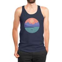 Peaceful Reflection - mens-jersey-tank - small view