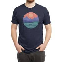 Peaceful Reflection - mens-triblend-tee - small view