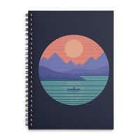 Peaceful Reflection - spiral-notebook - small view