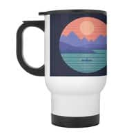 Peaceful Reflection - travel-mug-with-handle - small view
