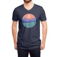 Peaceful Reflection - vneck - small view