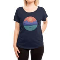 Peaceful Reflection - womens-dolman - small view