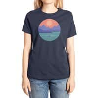 Peaceful Reflection - womens-extra-soft-tee - small view