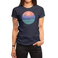 Peaceful Reflection - womens-regular-tee - small view