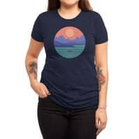 Peaceful Reflection - womens-triblend-tee - small view