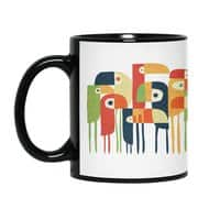 Tropical Toucan - black-mug - small view