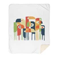 Tropical Toucan - blanket - small view
