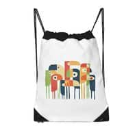 Tropical Toucan - drawstring-bag - small view