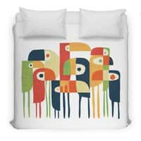 Tropical Toucan - duvet-cover - small view