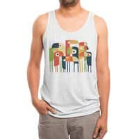 Tropical Toucan - mens-triblend-tank - small view