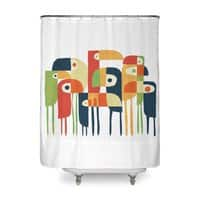 Tropical Toucan - shower-curtain - small view