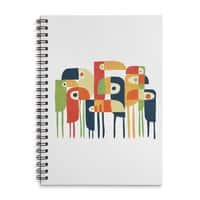 Tropical Toucan - spiral-notebook - small view