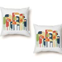 Tropical Toucan - throw-pillow - small view