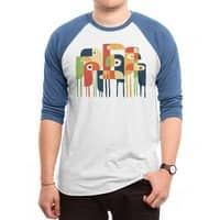 Tropical Toucan - triblend-34-sleeve-raglan-tee - small view