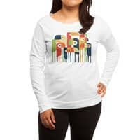 Tropical Toucan - womens-long-sleeve-terry-scoop - small view