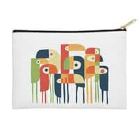 Tropical Toucan - zip-pouch - small view