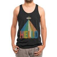 HELLO - mens-triblend-tank - small view