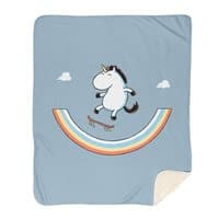 Rainbow Skate - blanket - small view