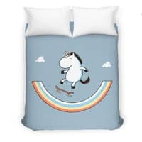 Rainbow Skate - duvet-cover - small view