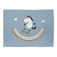 Rainbow Skate - rug-landscape - small view