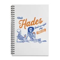 Visit Hades - spiral-notebook - small view
