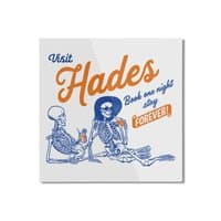 Visit Hades - square-mounted-aluminum-print - small view