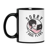 I have plans - black-mug - small view