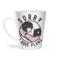 I have plans - latte-mug - small view