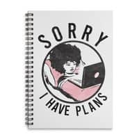 I have plans - spiral-notebook - small view