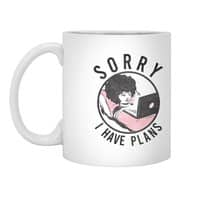 I have plans - white-mug - small view