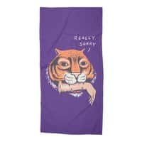 Really Sorry - beach-towel - small view