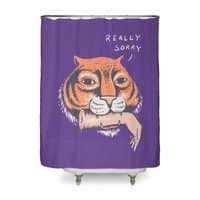 Really Sorry - shower-curtain - small view