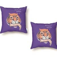 Really Sorry - throw-pillow - small view
